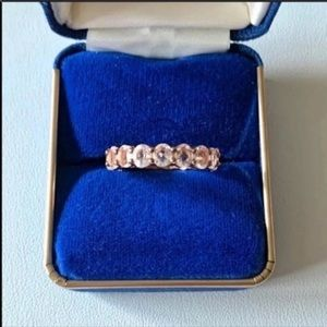 STERLING ETERNITY BAND SIZE 9